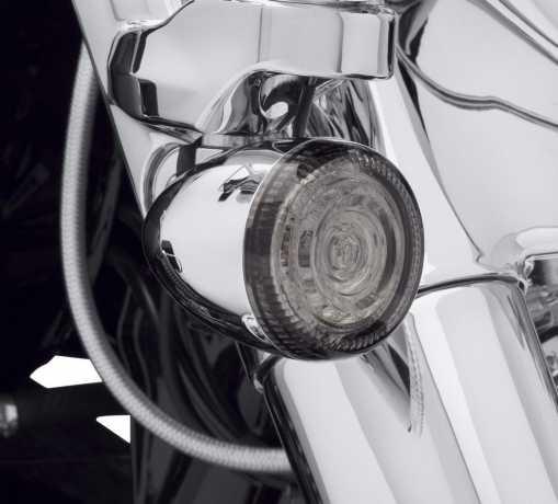 Harley-Davidson LED Bullet Turn Signal Lenses smoke  - 67800643