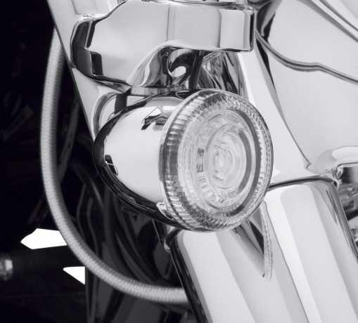 Harley-Davidson Gläser für LED Bullet Blinkereinsätze Klar  - 67800644