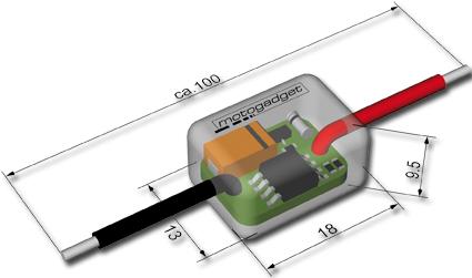 Motogadget Motogadget mo.Flash Blinksteuerung  - 41-99-320
