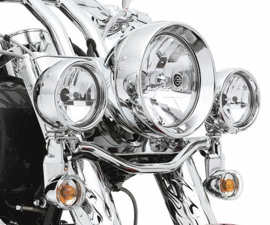 Harley-Davidson Auxiliary Lamp Bulb Kit Clear Lens & Vertical Reflector Optics  - 68348-05
