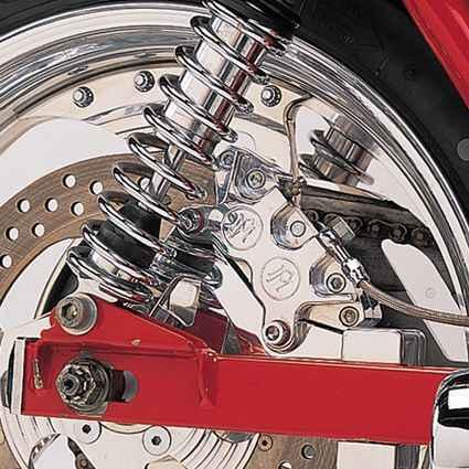 """Performance Machine PM Bremssattelhalter hinten 125X4R 11.5"""" chrom  - 68-4158"""