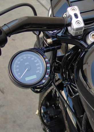 Joker Machine Joker Machine Tacho Versatzhalter 49mm schwarz  - 65-3423