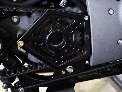 Joker Machine Joker Machine Riemenabdeckung schwarz  - 68-4995