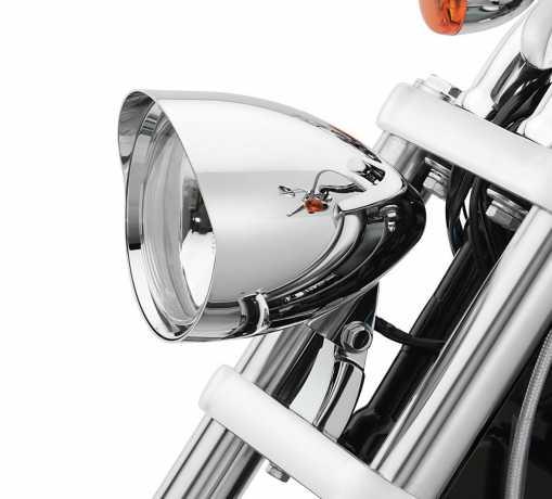 """Harley-Davidson Bullet Scheinwerfer-Kit 5 3/4"""" Chrom  - 68593-06"""