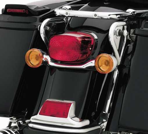Harley-Davidson Bullet Blinkerstangen-Kit Hinten Chrom  - 68617-04