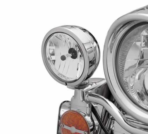 Harley-Davidson Zusatzscheinwerfer-Zierringe chrom  - 68775-93TA