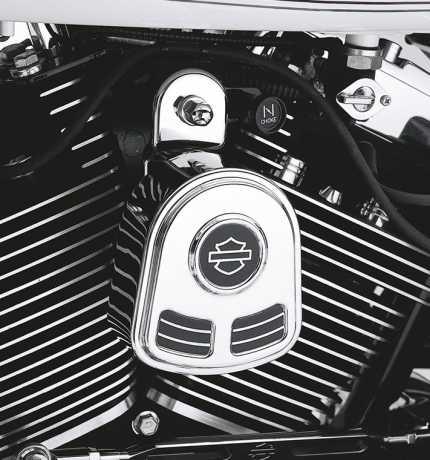 Harley-Davidson Hupenabdeckung mit Bar & Shield  - 69166-01B
