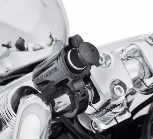 """Harley-Davidson Stromanschluss zur 1,25"""" Lenkermontage schwarz  - 69200854"""