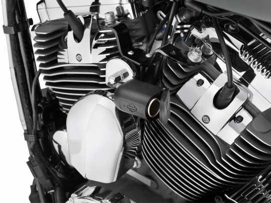 Harley-Davidson 12V Zusatz-Stromanschluss zur Hupenmontage  - 69201136