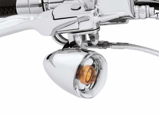 Harley-Davidson Bullet Turn Signal Lens Kit clear  - 69303-02