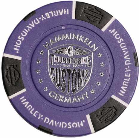 H-D Motorclothes Harley-Davidson Poker Chip purple - 69711
