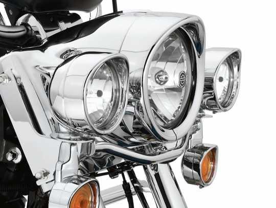 Harley-Davidson Zierschirm für Zusatzscheinwerfer chrom  - 69732-05