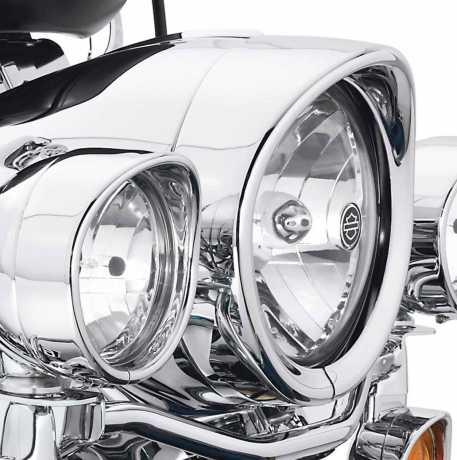 Harley-Davidson Zierschirm für Scheinwerfer chrom  - 69733-05