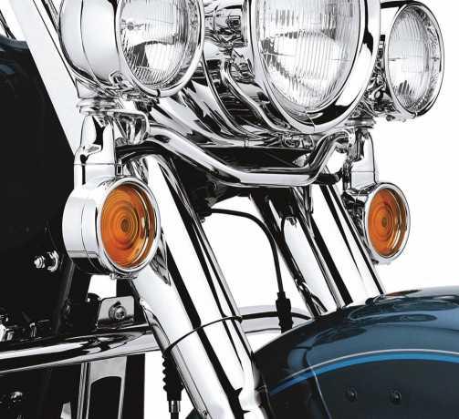 Harley-Davidson Trim Ring Kit for Turn Signal - Flat Lens  - 69740-01