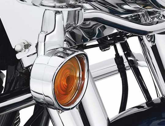 Harley-Davidson Turn Signal Trim Rings for Flat Lens  - 69749-05