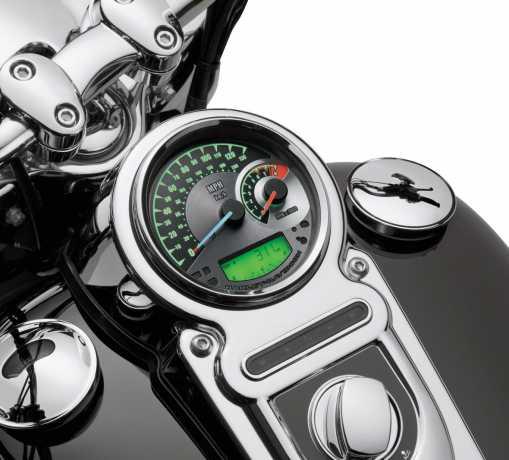 "Harley-Davidson Analog Speedometer/Tachometer - 5"" MPH/km/h  - 70900072A"