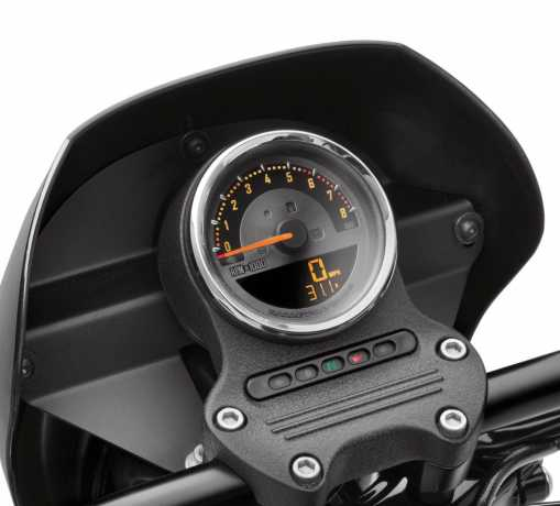 "Harley-Davidson Digital 4"" Speedo with analog Tachometer  - 70900274"