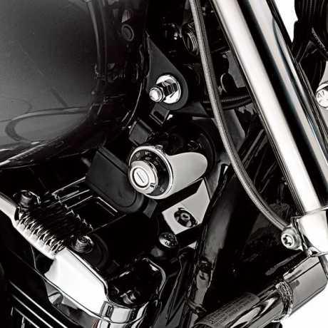 Harley-Davidson Zündschlossabdeckung chrom  - 71527-04