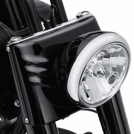 Harley-Davidson Headlamp Shell, gloss black  - 73294-10