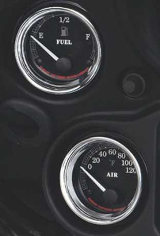 """Harley-Davidson Instrumentenfassungen 2"""" chrom  - 74550-92T"""