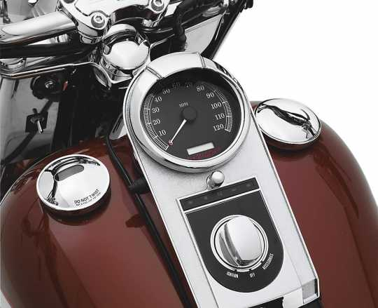 """Harley-Davidson Instrumenten-Zierschirm für 5""""-Instrument  - 74661-04"""