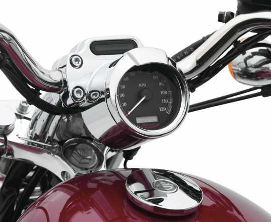 """Harley-Davidson Instrumenten-Zierschirm für 4""""-Instrument  - 74662-04"""