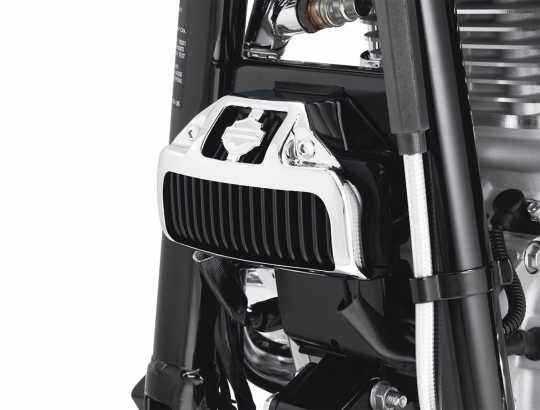 Harley-Davidson Spannungsreglerabdeckung chrom  - 74667-06