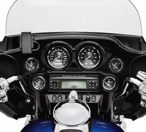 Harley-Davidson Air Temperature Gauge with Titanium Face  - 74689-10