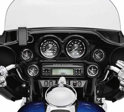 "Harley-Davidson 4"" Tachometer withTitanium Face Gauges  - 74692-10"
