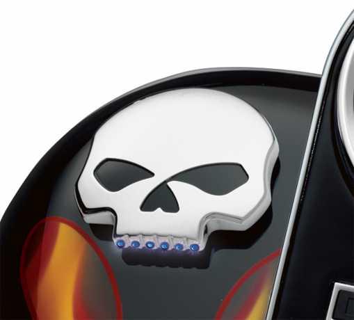 Harley-Davidson LED-Tankanzeige Skull  - 75098-08A