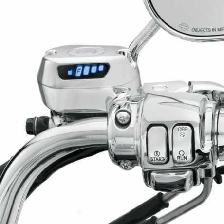 Harley-Davidson Digital Fuel Gauge Kit chrome  - 75338-09