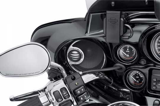 Harley-Davidson Boom! Audio Lautsprecher-Verzierung Vorn  - 76000156