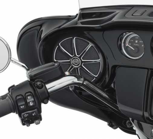 Harley-Davidson Burst Batwing Lautsprecherverzierungen  - 76000623