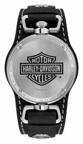 Bulova Harley-Davidson Watch Bar & Shield Rotating Case  - 76B185