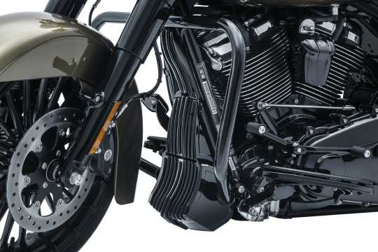 Küryakyn Küryakyn Precision Oil Cooler Cover, Gloss Black  - 77-6418