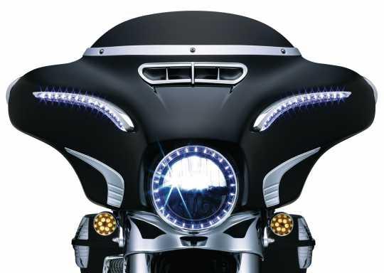 Küryakyn Küryakyn LED Bat Lashes Verkleidungs-Zierblenden  - 77-6904