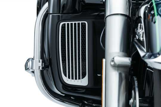 Küryakyn Küryakyn Radiator Grills For Twin Cooled, Chrome  - 77-7681