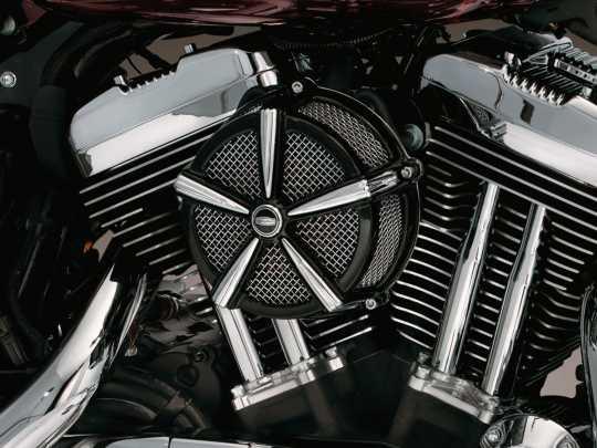 Küryakyn Küryakyn Hi-Five Mach 2 Aircleaner, Black & Chrome  - 77-9514