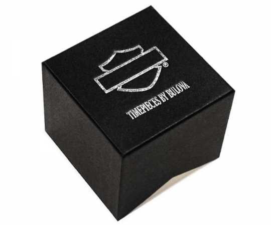 Bulova Harley-Davidson women´s Watch Willie G Skull with Swarovski® Crystals  - 78L126