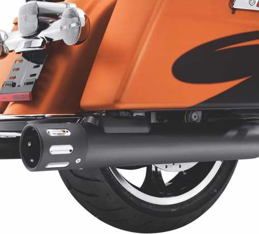 Harley-Davidson Muffler Bracket Cover Kit black  - 80812-10