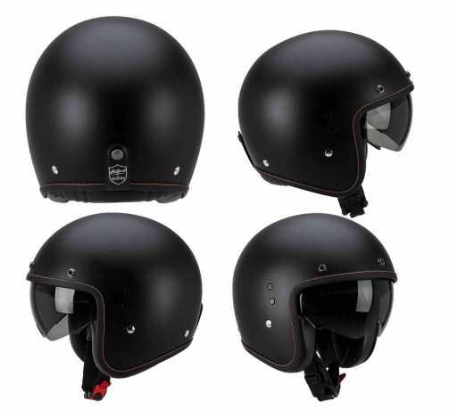 Scorpion Helmets Scorpion Belfast Solid Jethelm schwarz matt  - 81-100-10V