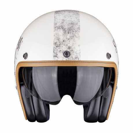 Scorpion Helmets Scorpion Belfast Helmet Pique creme & black  - 81-271-283V