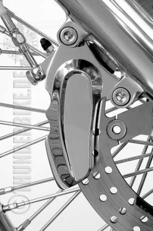 "Thunderbike 6 Kolben-Bremszange ""Thunderbike"" verchromt  - 84-00-600"
