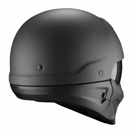 Scorpion Helmets Scorpion Exo-Combat Helmet Evo Solid black matt  - 85-100-10V