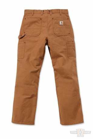 Carhartt Carhartt Double Front Work Pant, brown  - 88-8759V