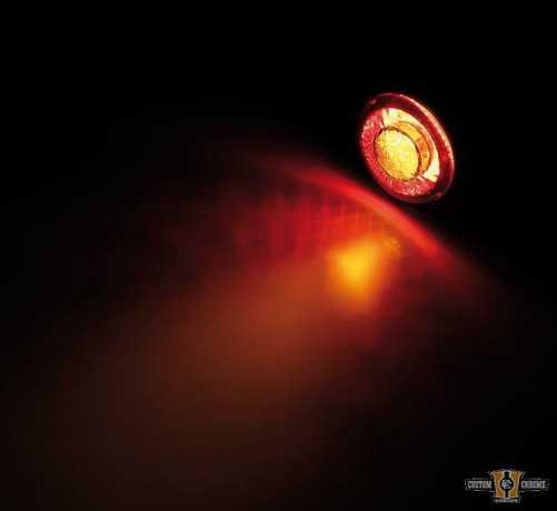 Highsider Highsider Apollo LED Blinker & Rücklicht, schwarz & smoke  - 89-0763