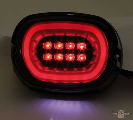 Shin Yo Shin Yo LED-Rücklicht mit Smoke Lens & black Reflector  - 89-0766