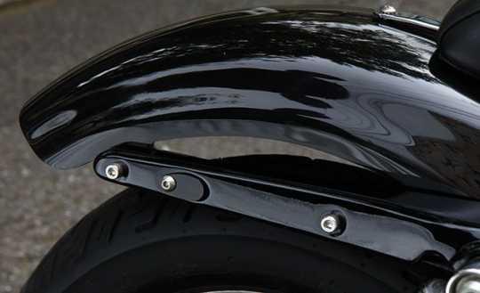 Easyriders Japan Easyriders Rear Turn signal Hole Plate, Stainless Steel, Black  - 89-3076