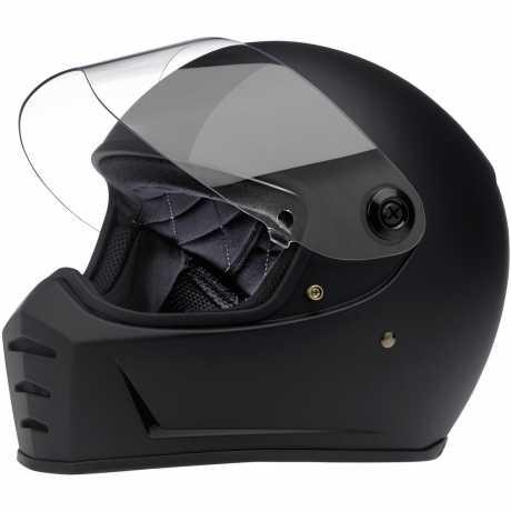 Biltwell Biltwell Lane Splitter Helm ECE, schwarz matt  - 956468V