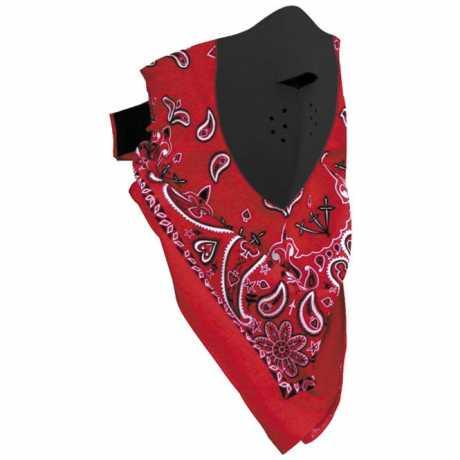ZANheadgear ZANheadgear Neodanna Red Paisley  - 89-4469